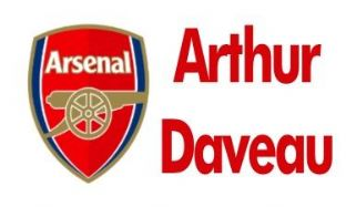 Personalised Arsenal School Book Stickers